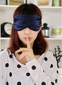 100% Pure Silk Sleep Eye Mask / Light Out Eyemask/ Natural