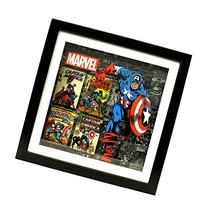 Silver Buffalo MV1406SB Marvel Captain America Shadow Box
