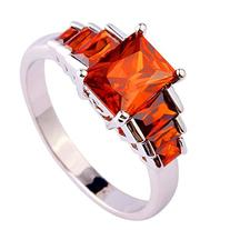 Women's 925 Sterling Silver 2.5cttw Natural Garnet Filled