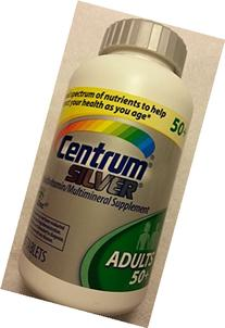 Centrum Silver Multivitamin / Mineral 285 Tablets Adults