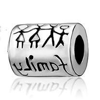 """Mothers Day Gifts Pugster Silver Plated """" Family Life"""""""