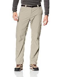 Columbia Men's Silver Ridge Cargo Pant, Fossil, 34x30-Inch