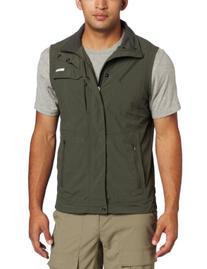Columbia Men's Silver Ridge Vest, Gravel, XX-Large