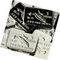 1 Gram Silver SR 71 Blackbird Ingot .999 Pure Miniature Art
