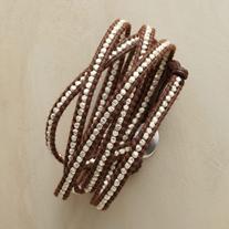 Chan Luu Silverstream 5 Wrap Bracelet