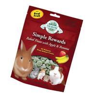 Oxbow Simple Rewards Apple and Banana Small Animal Treats