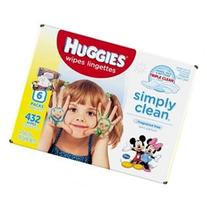 HUGGIES Simply Clean Refreshing Baby Wipes, Fragrance Free,