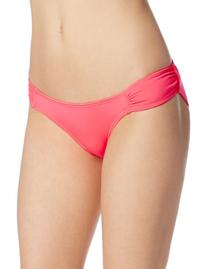 Volcom Women's Simply Solid Soft Side Modest Bikini Bottom,