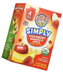Earth's Best Simply Strawberry Banana and Apple Freeze Dried