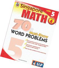 70 Must-Know Word Problems, Grade 6