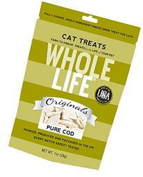 Whole Life Pet Single Ingredient USA Freeze Dried Cod Filet