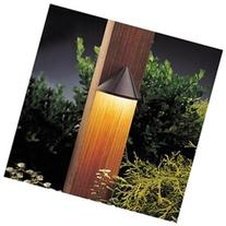 Six Groove Deck Light in Textured Architectural Bronze -