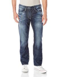 Buffalo David Bitton Men's Six Slim Straight Leg Jean,