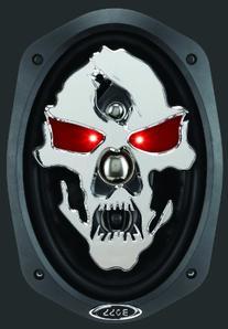 """Boss Audio SK694 Phantom Skull 6"""" x 9"""" 4-Way, Car"""