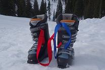 Bootyo! Ski Boot Carrier Strap Blue two pack-SAVE