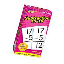 Skill Drill Flash Cards: Subtraction 13-18