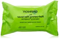 Garnier SkinActive Clean+ Refreshing Makeup Remover Wipes,