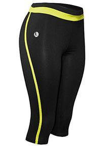 Women's Performance Skinny Athletic Yoga Capri Leggings,