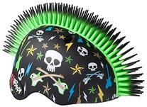 KRASH Skull Guitars Mohawk Helmet, Green