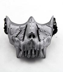 SHARPTECK Skull Skeleton Airsoft Paintball Half Face Protect