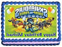 Skylanders Swap Force #2 Edible Image Cake Topper - 1/4
