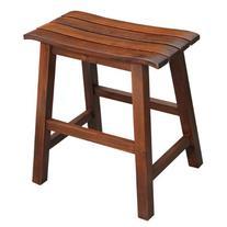 International Concepts Slat Seat Stool, 18-Inch Seat Height