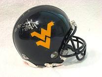 Slaton, Steve autographed West Virginia Mountaineers Mini