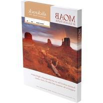 Moab Slickrock Metallic Pearl Resin Coated Inkjet Media,