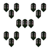 Dart World Slim Shape 16265 Black Pentathlon Flights