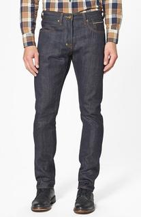 Men's Prps 'Demon' Slim Straight Leg Selvedge Jeans, Size 40