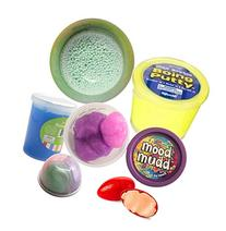 Kids Slime and Putty Toy Sampler Bundle - Tactile and