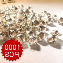 """Aspire 6mm 1/4"""" Small Sliver Bells Wholesale, DIY Party"""