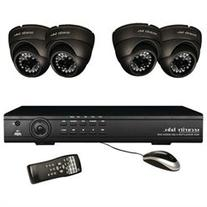 SECURITY LABS SLM454 4-Channel 960H 4-Camera System with 4