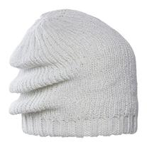 Chaos Style Slouch Beanie, One Size, White