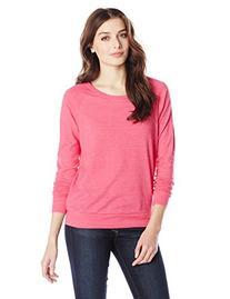 Alternative Women's Slouchy Pullover, True Azalea, Large