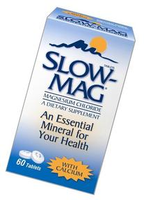 Slow-Mag Magnesium Chloride Dietary Supplement with Calcium