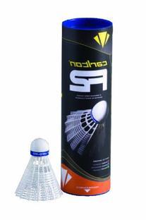 Carlton F2 Fast Speed Badminton Shuttle, White