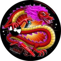 Ortofon SM-13 Chinese Dragon Slipmats, Pair