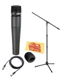 Shure SM57-LC Instrument/Vocal Cardioid Dynamic Microphone