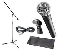 Shure SM58 with Mic Stand and Cable