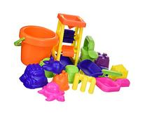 Small World Toys Sand & Water - 15-pc Sand Toy Set