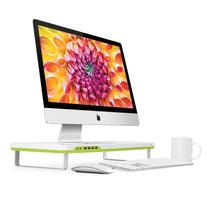 Satechi F1 Smart Monitor Stand with 4 USB Ports and