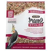 Zupreem Smart Selects For Cockatiels & Lovebirds, 2.5 Lb