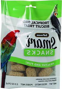 Zupreem Smart Snacks Bird Biscuit Treat 2.5 Oz. Tropical