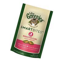 Greenies Smartbites Feline Hairball Chicken 10 oz