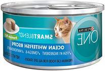 Purina ONE Grain Free Formula Ocean Whitefish Recipe Premium