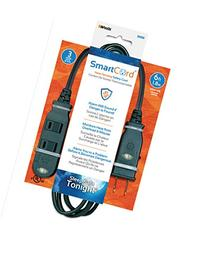 SmartCord Safety Extension Cords w/ Heat-Sensing Alarm, 6-