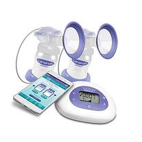 Lansinoh Smartpump Double Electric Breastpump, Purple/White
