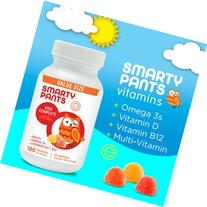 Smarty Pants Kids Complete Multi-Vitamin, 180 Gummies