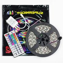 SUPERNIGHT  16.4FT SMD 5050 Waterproof 300LEDs RGB Flexible